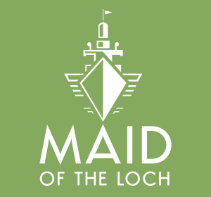 <span>Maid of the Loch branding</span><i>→</i>